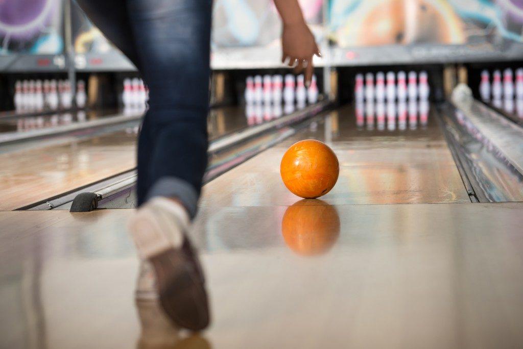 bowling person