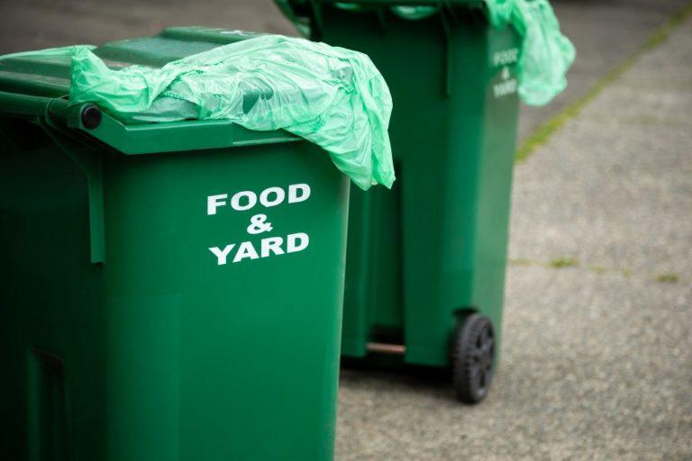 food waste bin
