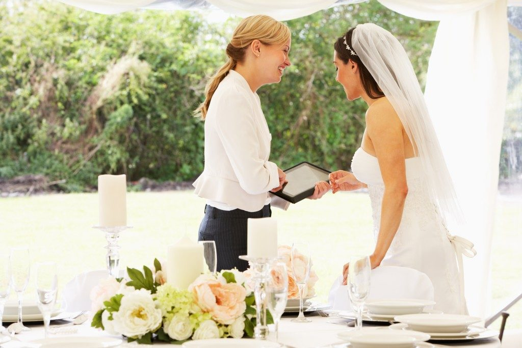 planning for a wedding