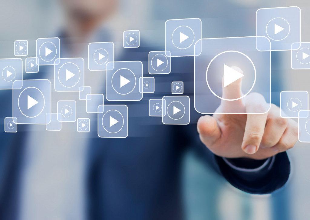 video content concept