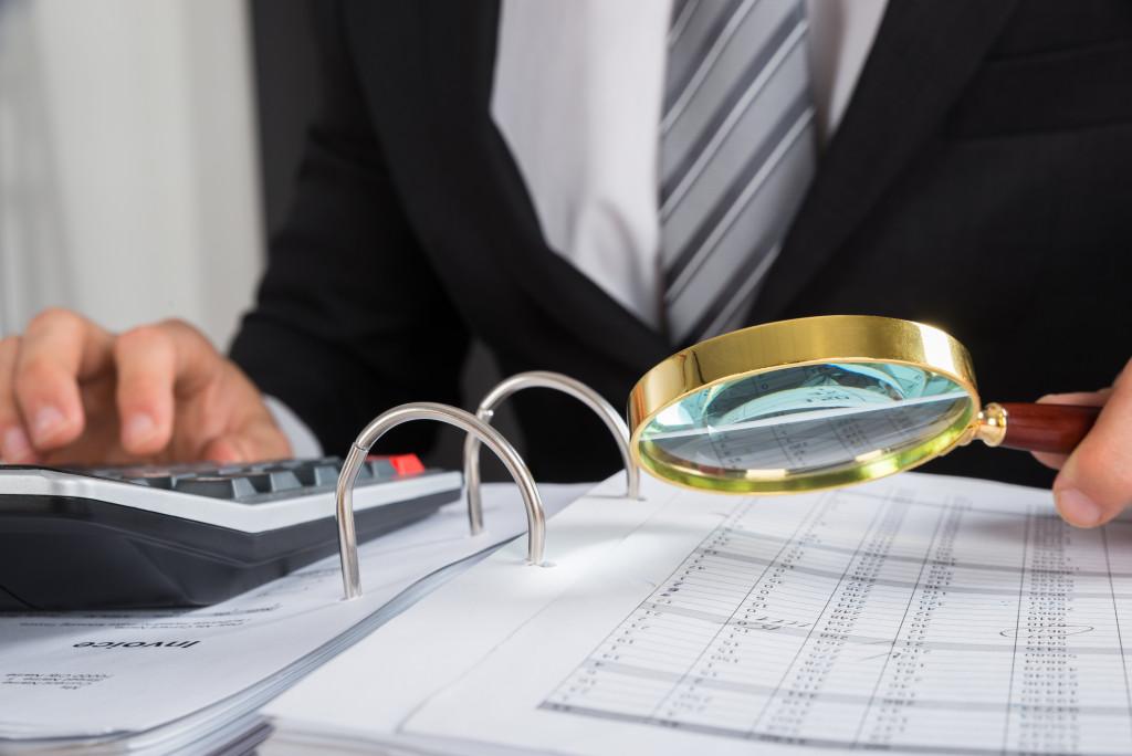 invoice and finances