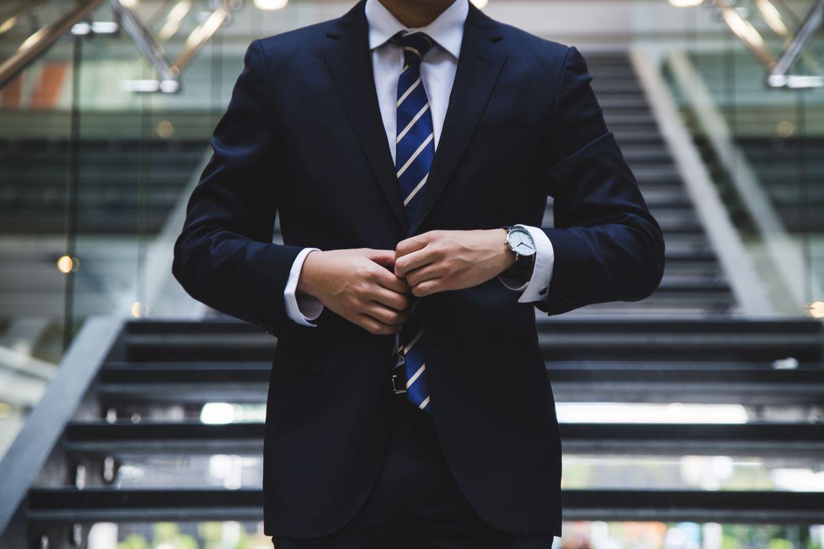 well dressed man